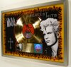 "Thumbnail image for Billy Idol ""Greatest Hits"" Gold CD/LP Bar Hologram Record Award"