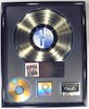 "Thumbnail image for Roxette ""Look Sharp!"" Gold RIAA LP R Hologram CD, Cassette & Record Award"