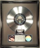 "Thumbnail image for Steve Winwood ""Back In The High Life"" – 1986 #3 Album – RIAA Flower Hologram – Platinum Record Award"